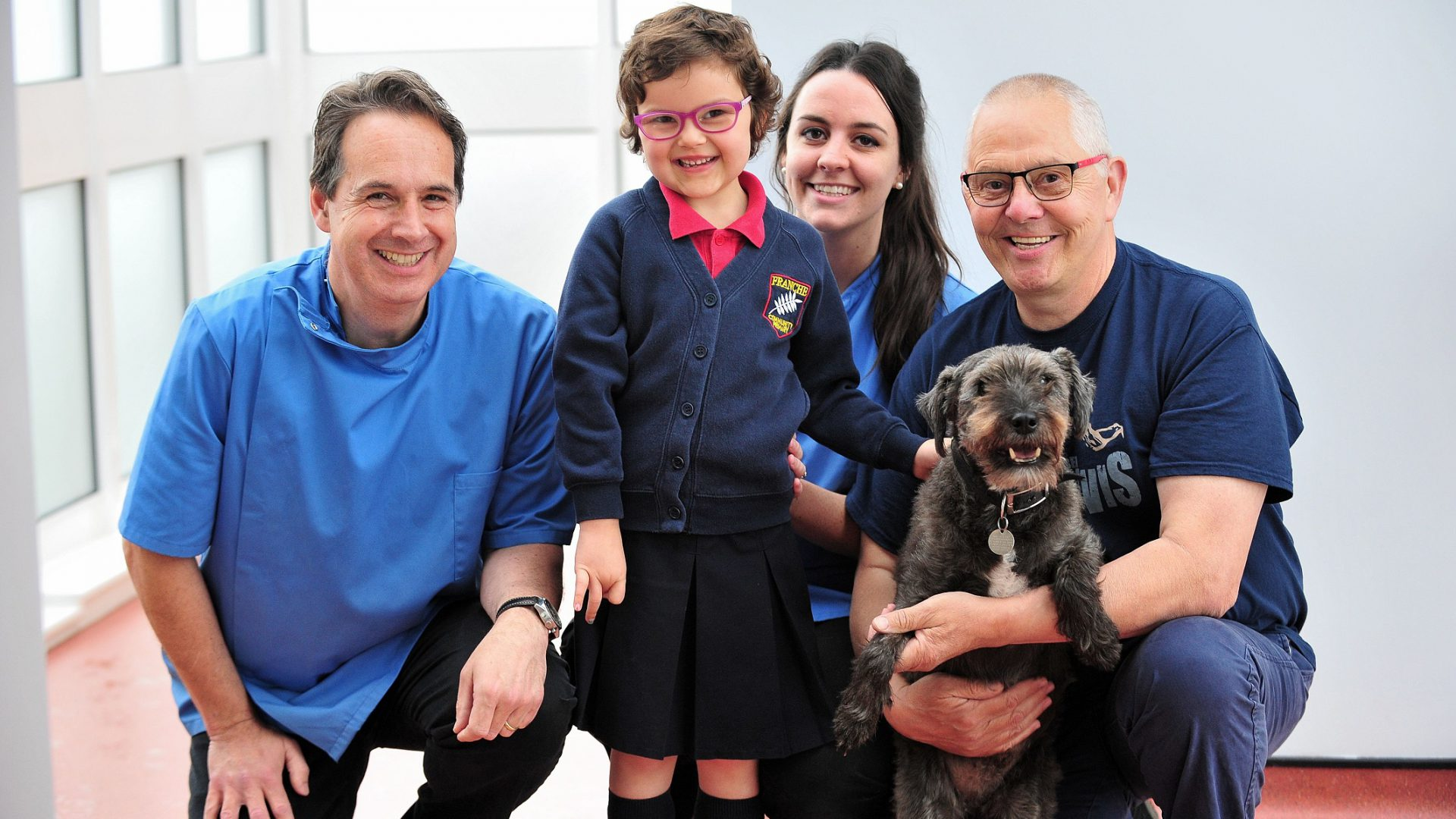 Terrier scales Ben Nevis for charity after lifechanging veterinary surgery
