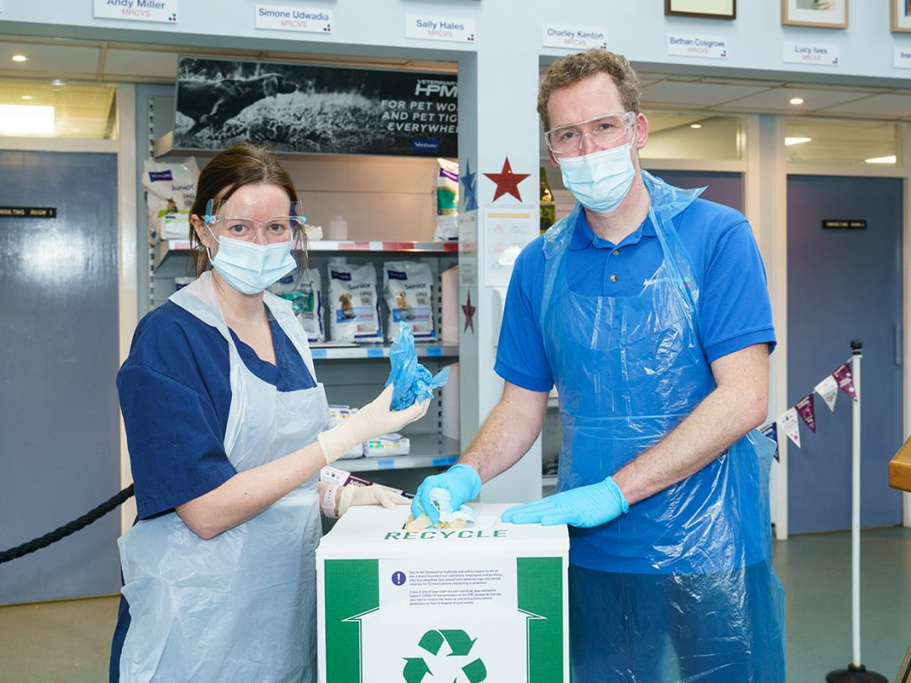 VetPartners pledges to recycle two-million items of PPE to help planet