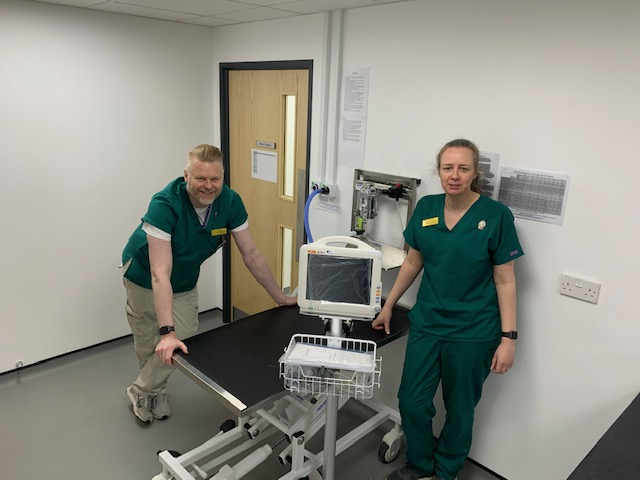 Veterinary hospital destroyed by Storm Dennis re-opens to help with coronavirus pandemic