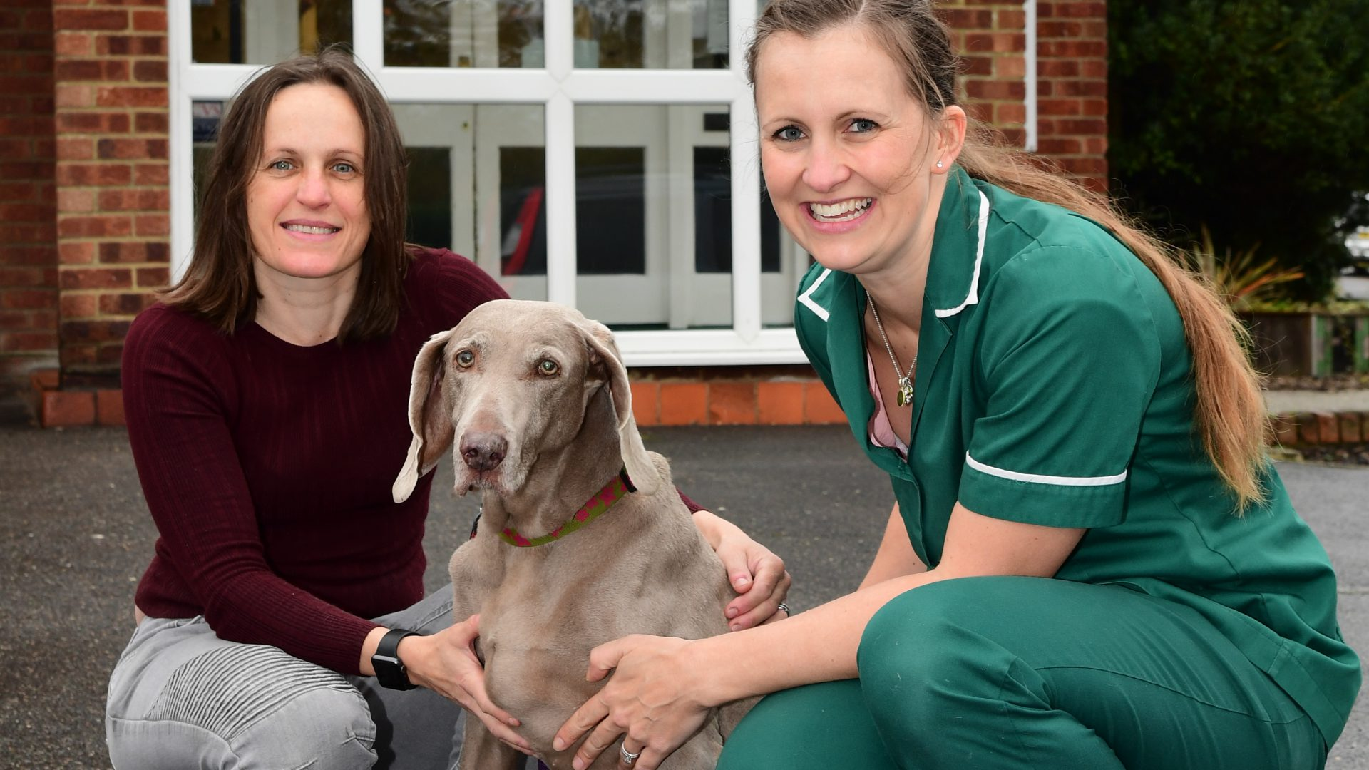 Age no barrier to Cleo – a year after life-saving operation