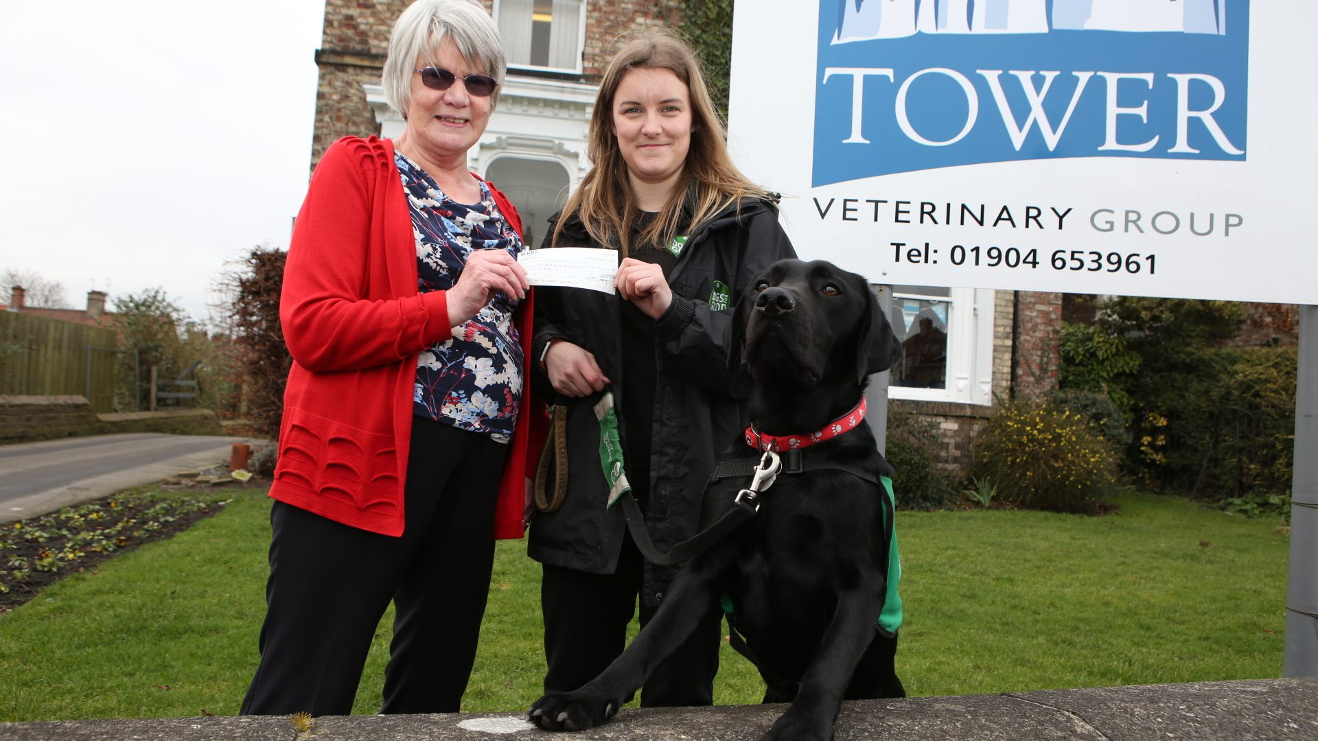 York dog owner Christine's legacy of love boosts vet practice's worthy causes