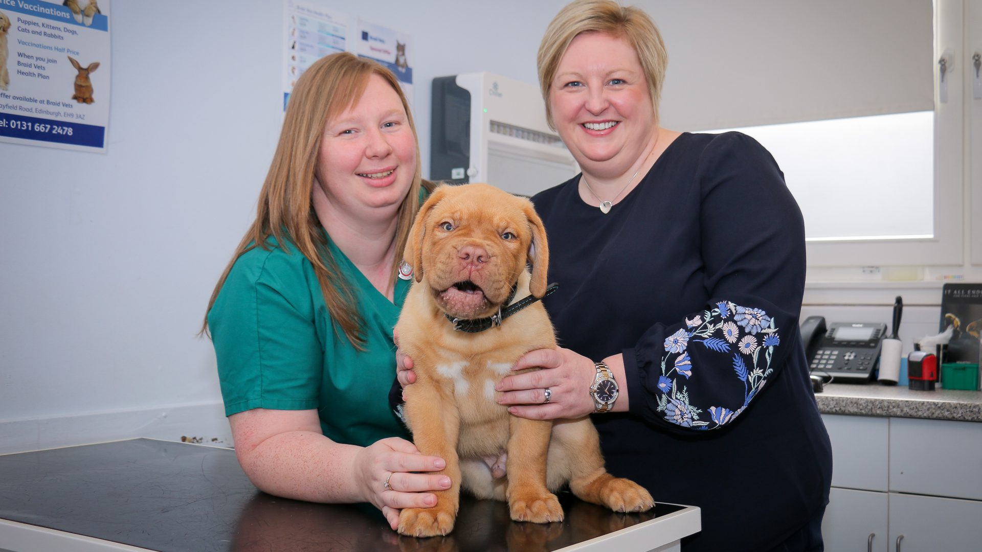 Edinburgh veterinary nurses promoted to the paw-fect jobs