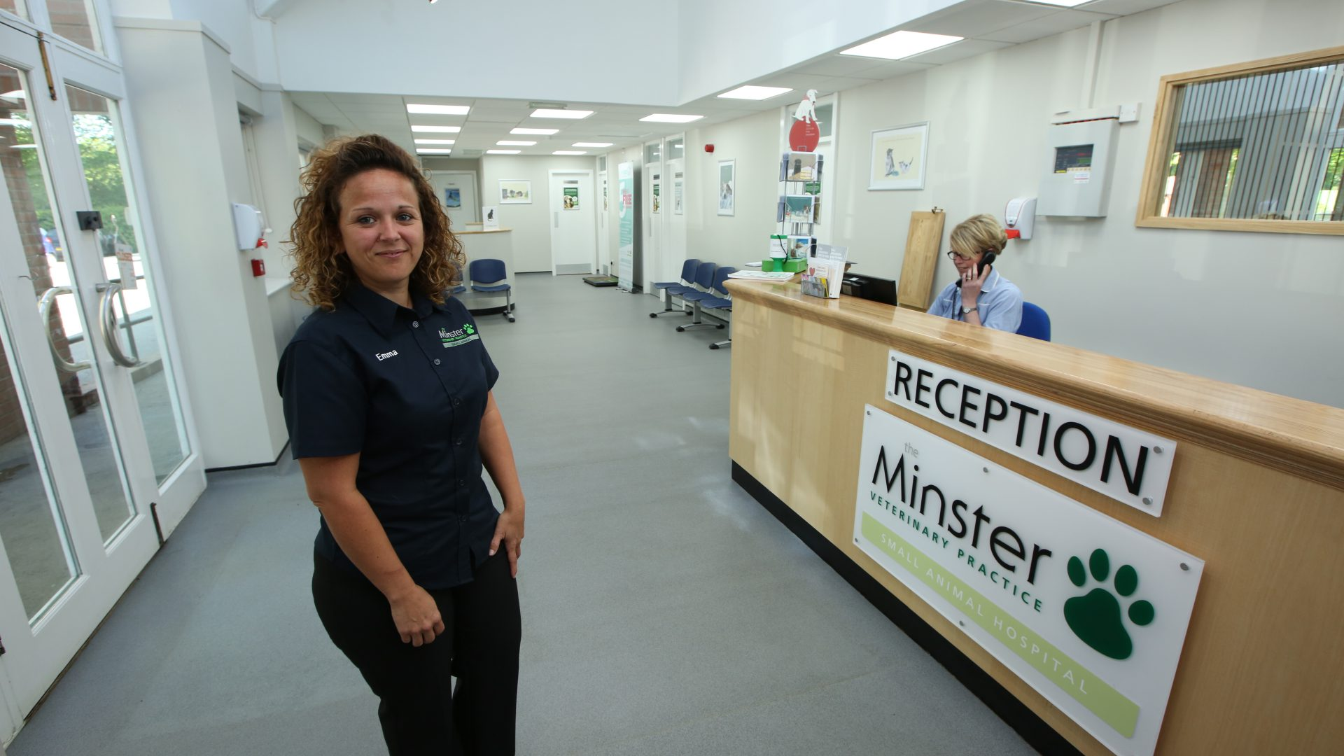 Emma is Darling of veterinary nurse profession after promotion to Practice Manager