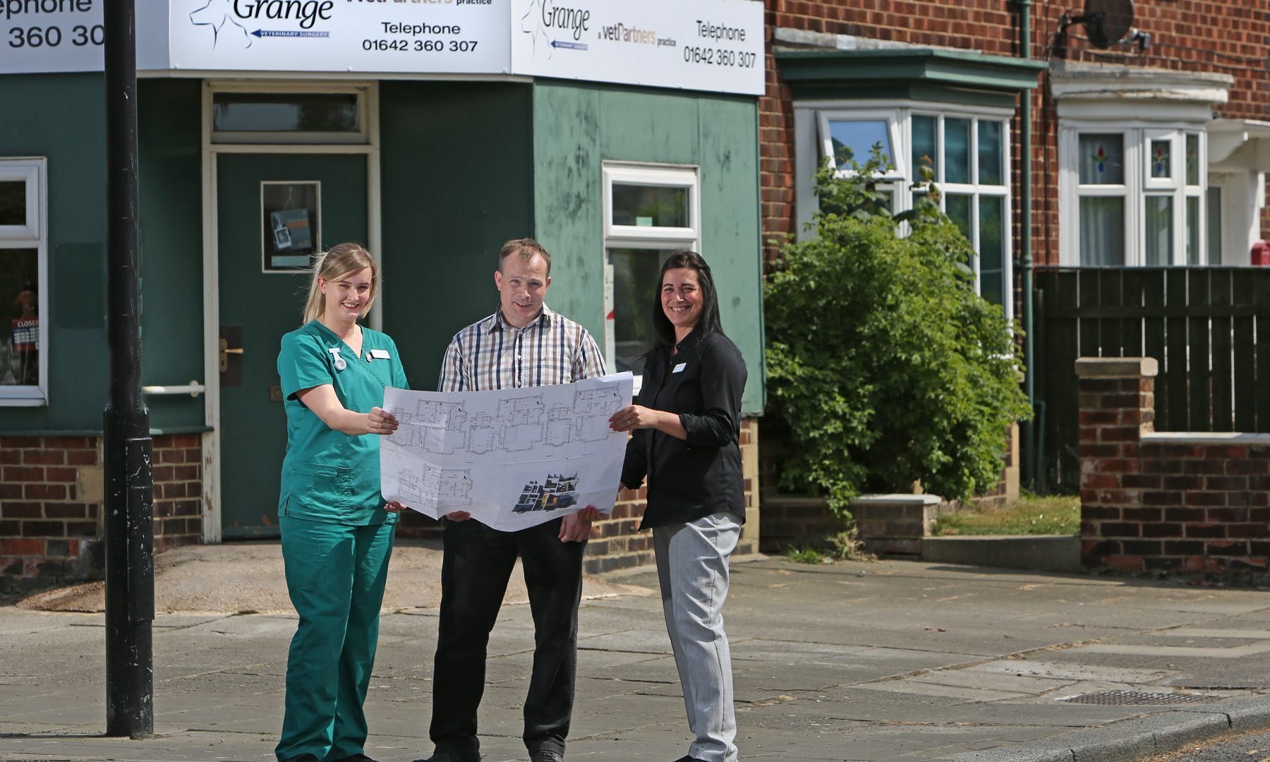 Grange Vets set to be cat's whiskers after £400K revamp
