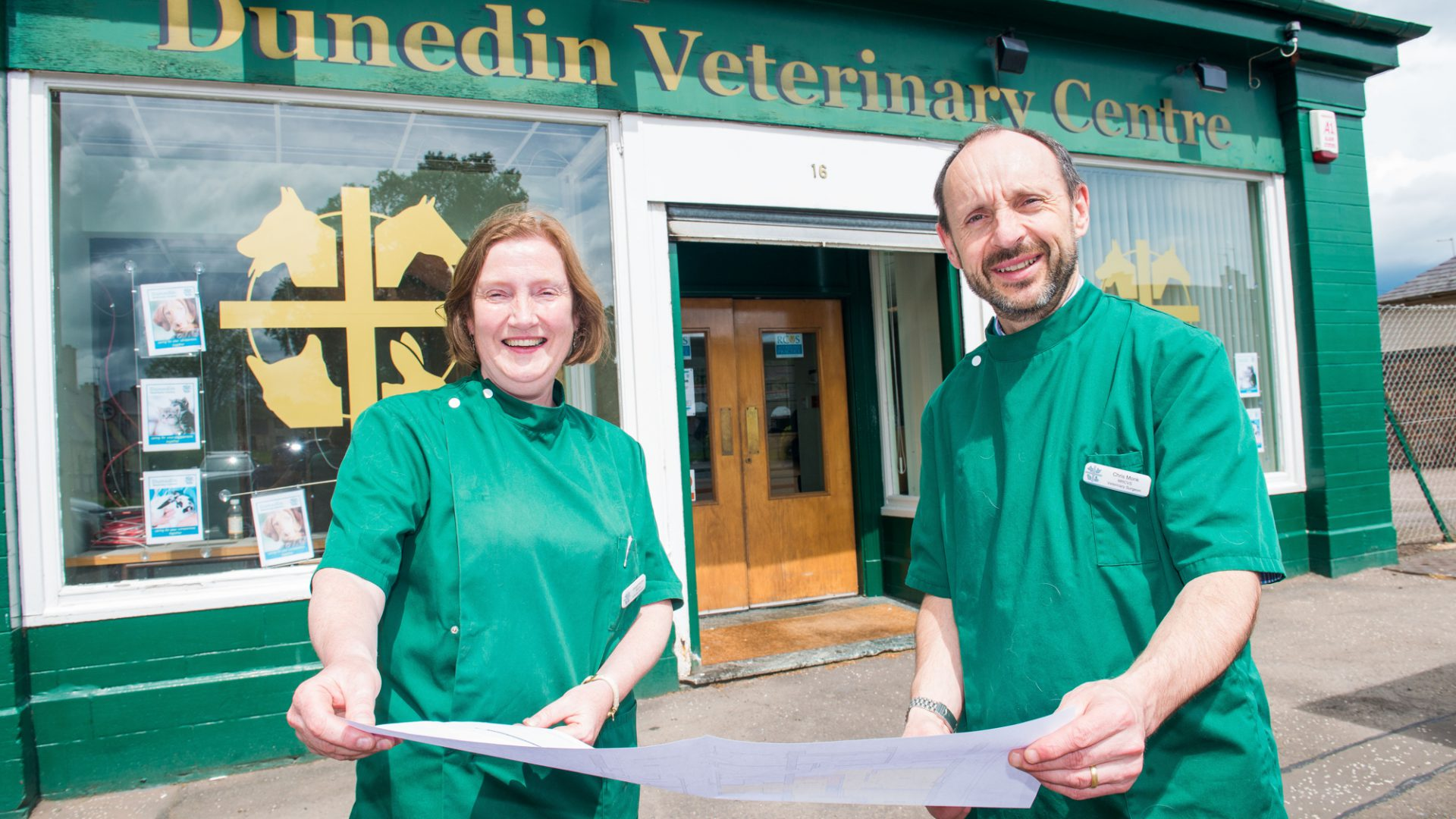 Dunedin Vets set for £60K surgery revamp