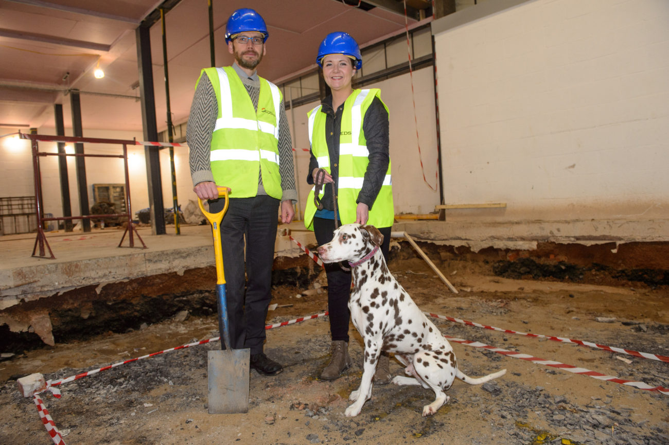 Work underway on new £2m veterinary hospital with 20 jobs in pipeline