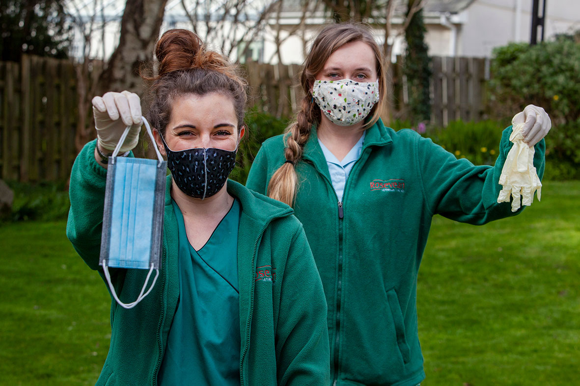200,000 items of PPE recycled as practices go green