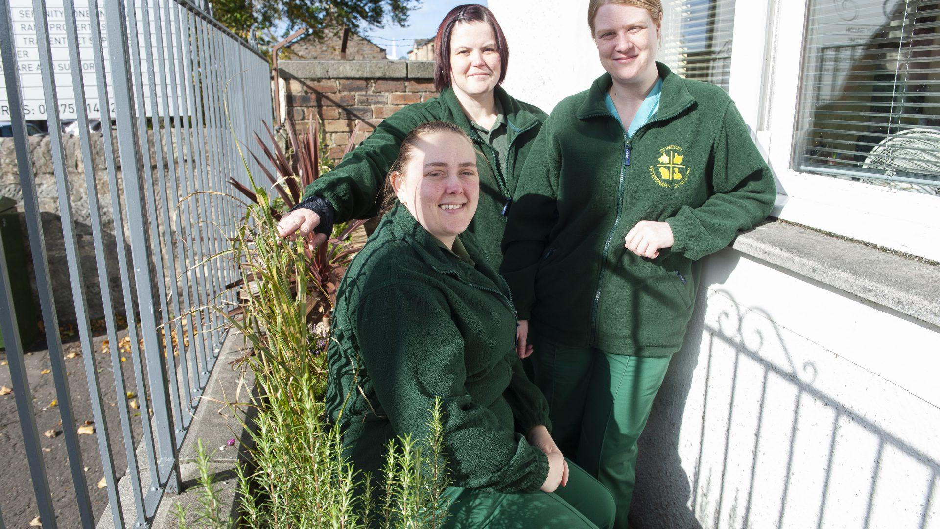 Memorial garden unveiled in honour of popular nurse