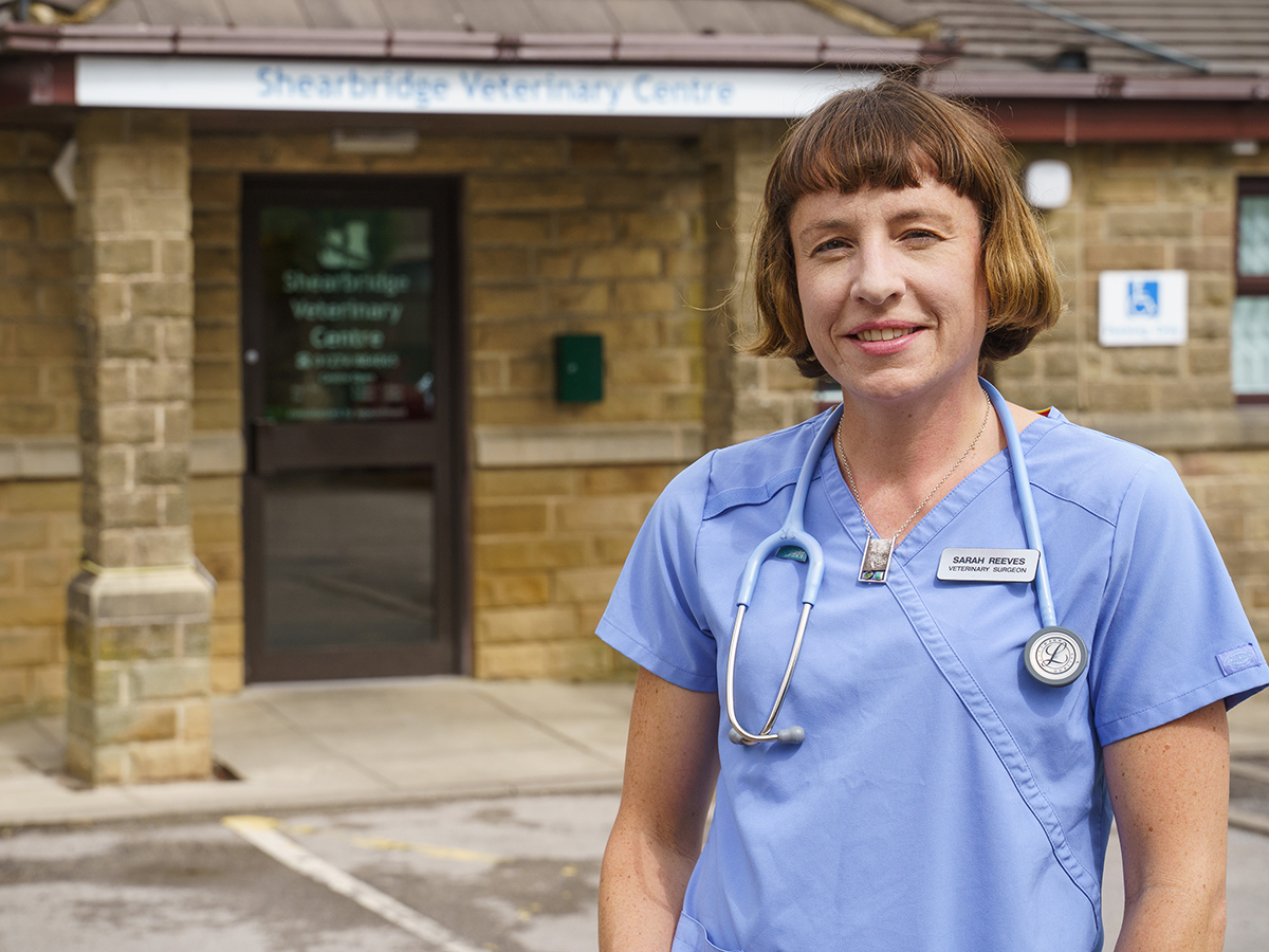 How Sarah added business acumen to her veterinary skills