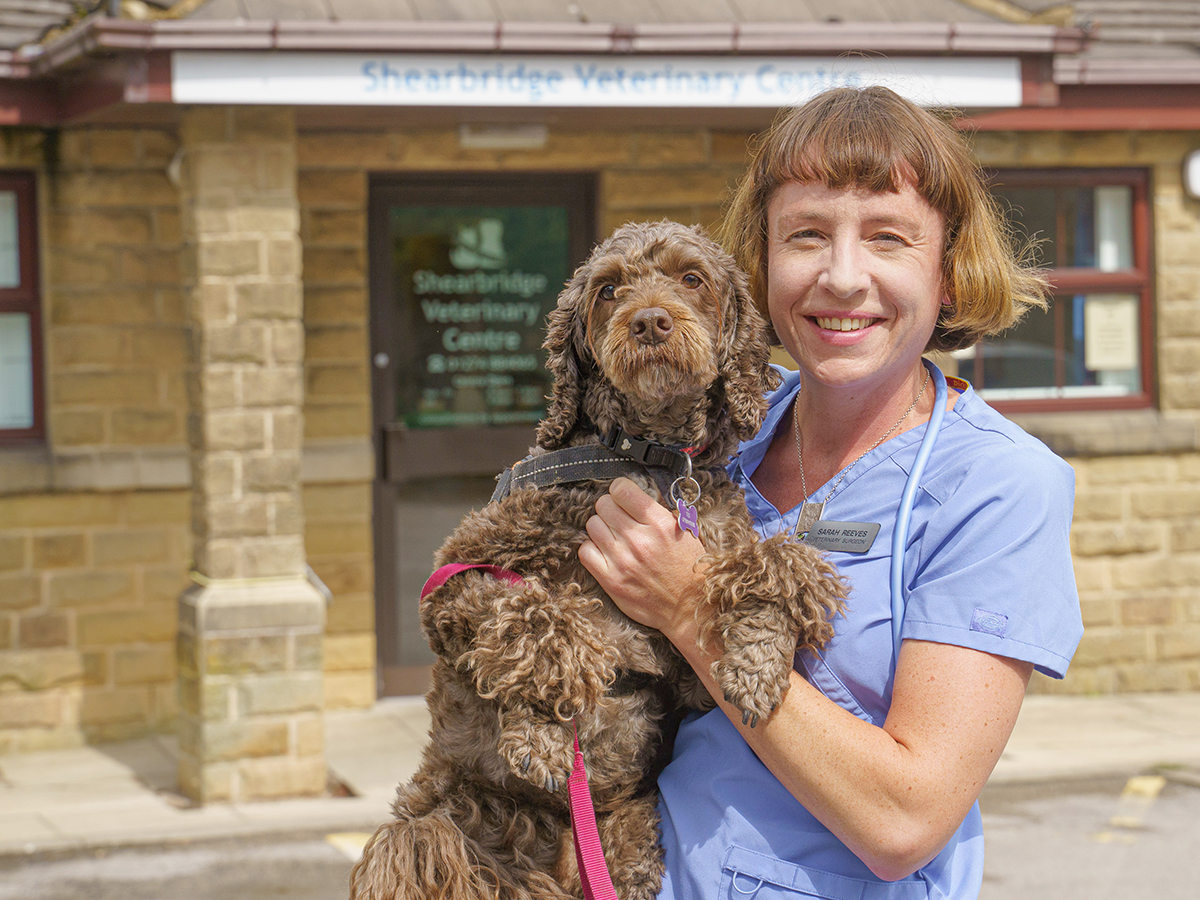 As well as treating West Yorkshire's pets, vet Sarah proves she has a head for business