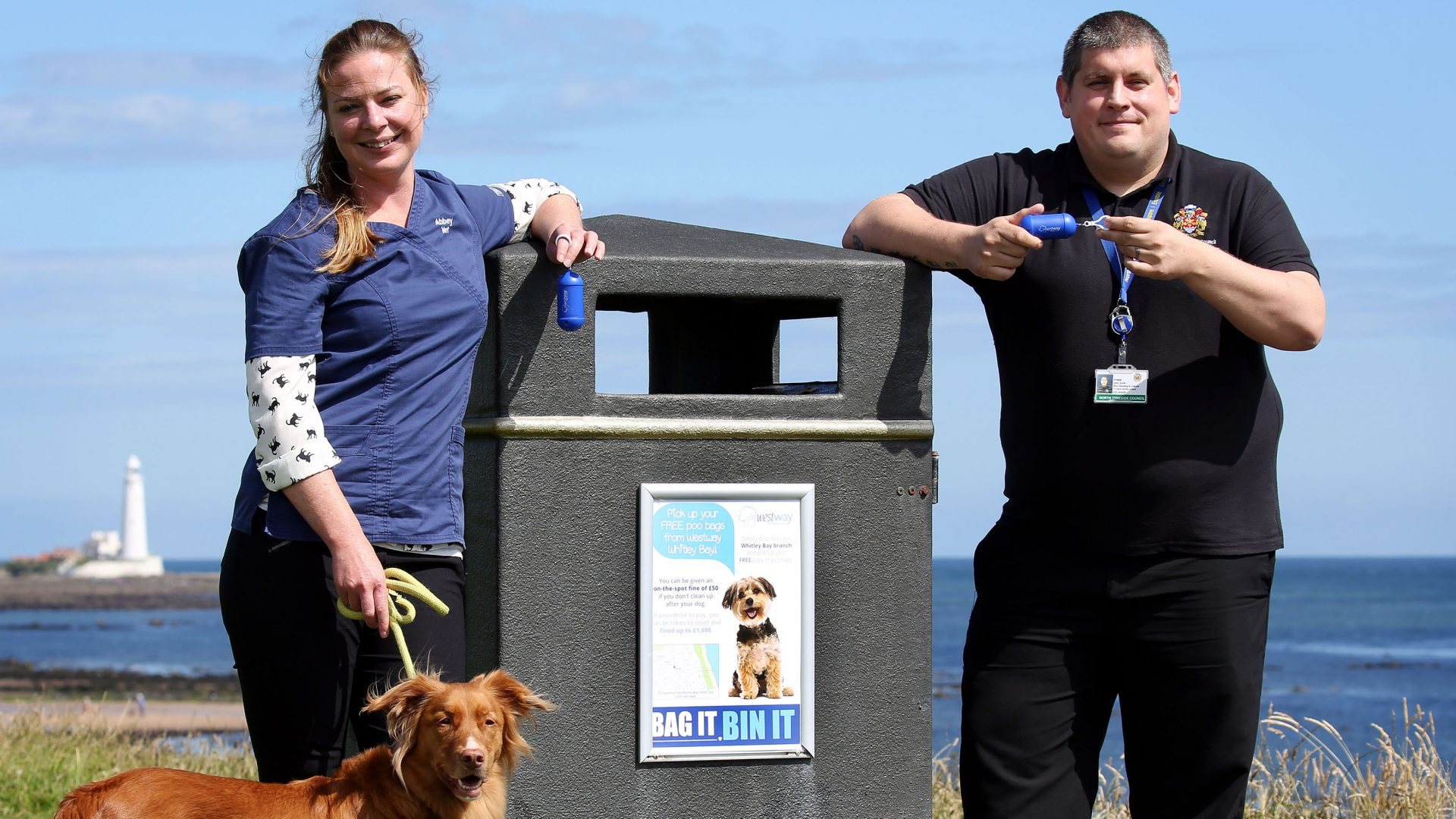 North East vets aims to flight the blight of dog poo