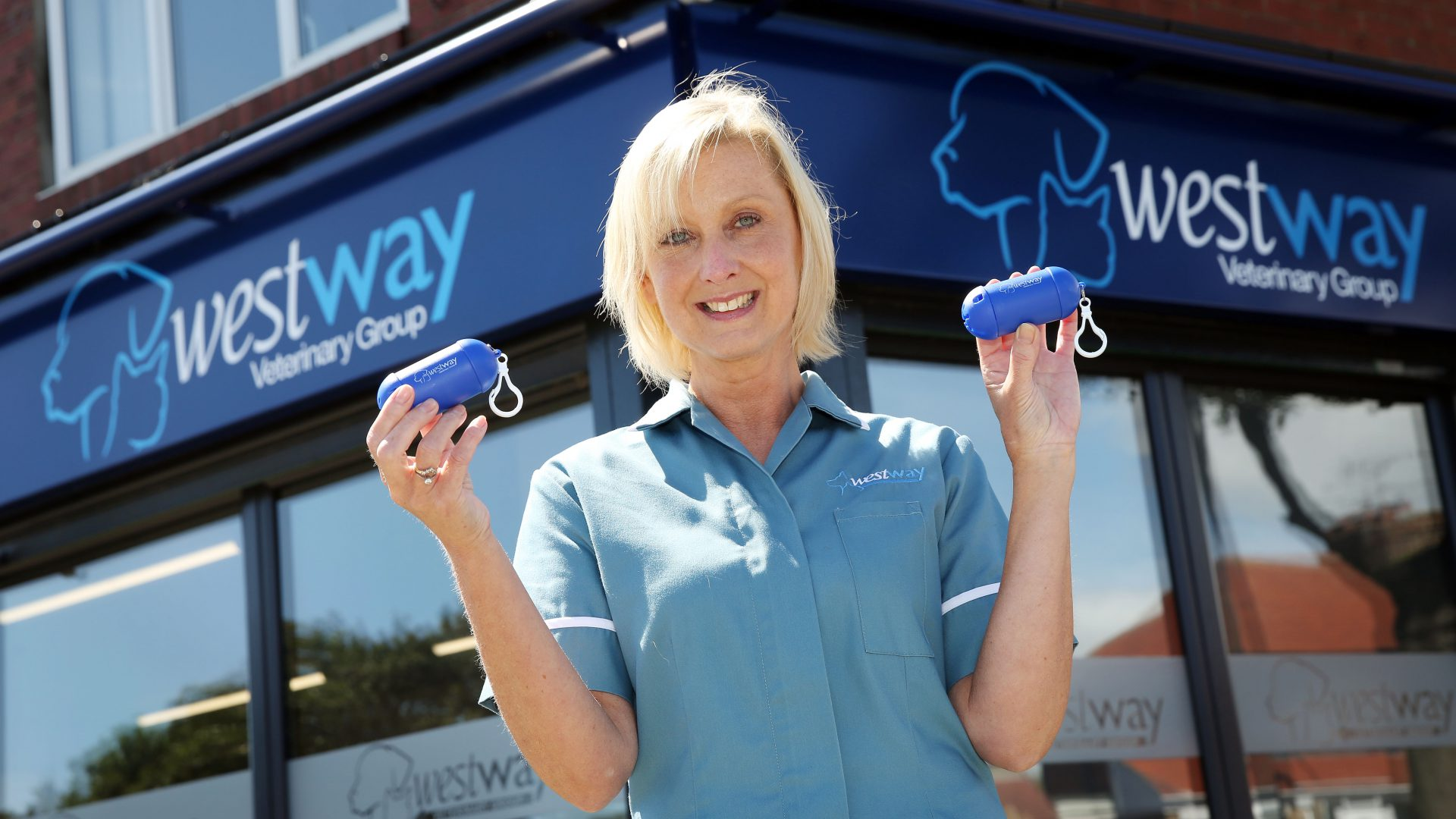 Whitley Bay vets commended for campaign to clear streets of dog poo
