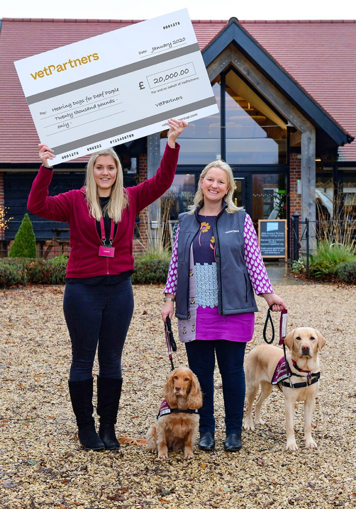 PAT on the back for VetPartners as fundraising starts for more hero pets