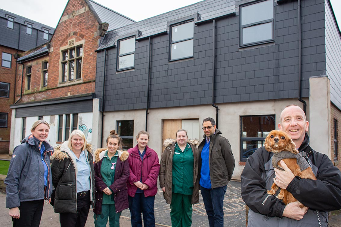 New milestone in state-of-the-art Kettering veterinary hospital project