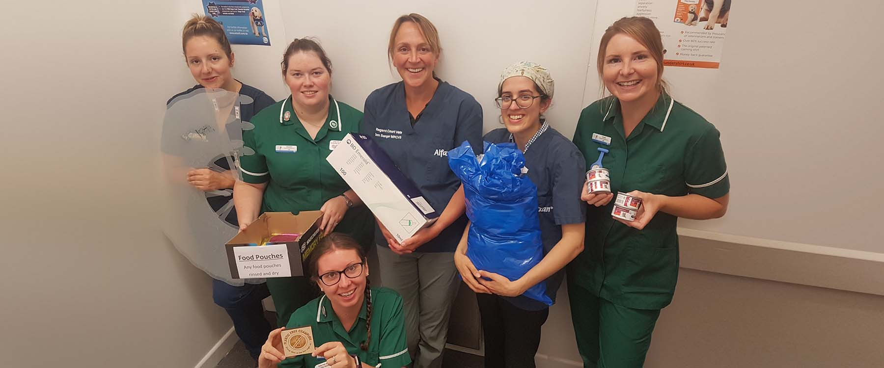 Cornwall vet practice goes green to help the environment