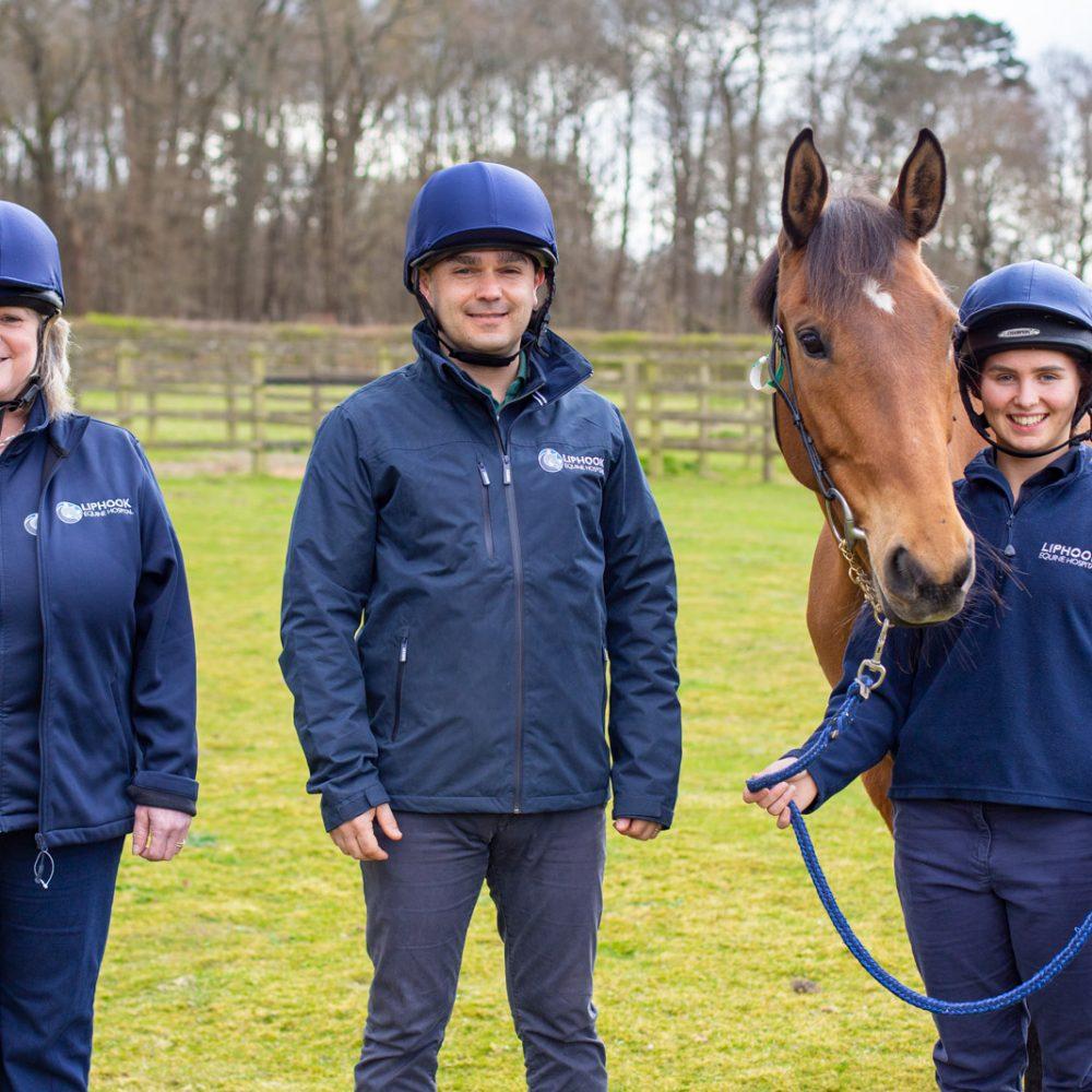 Safety helmets make horse sense for equine teams