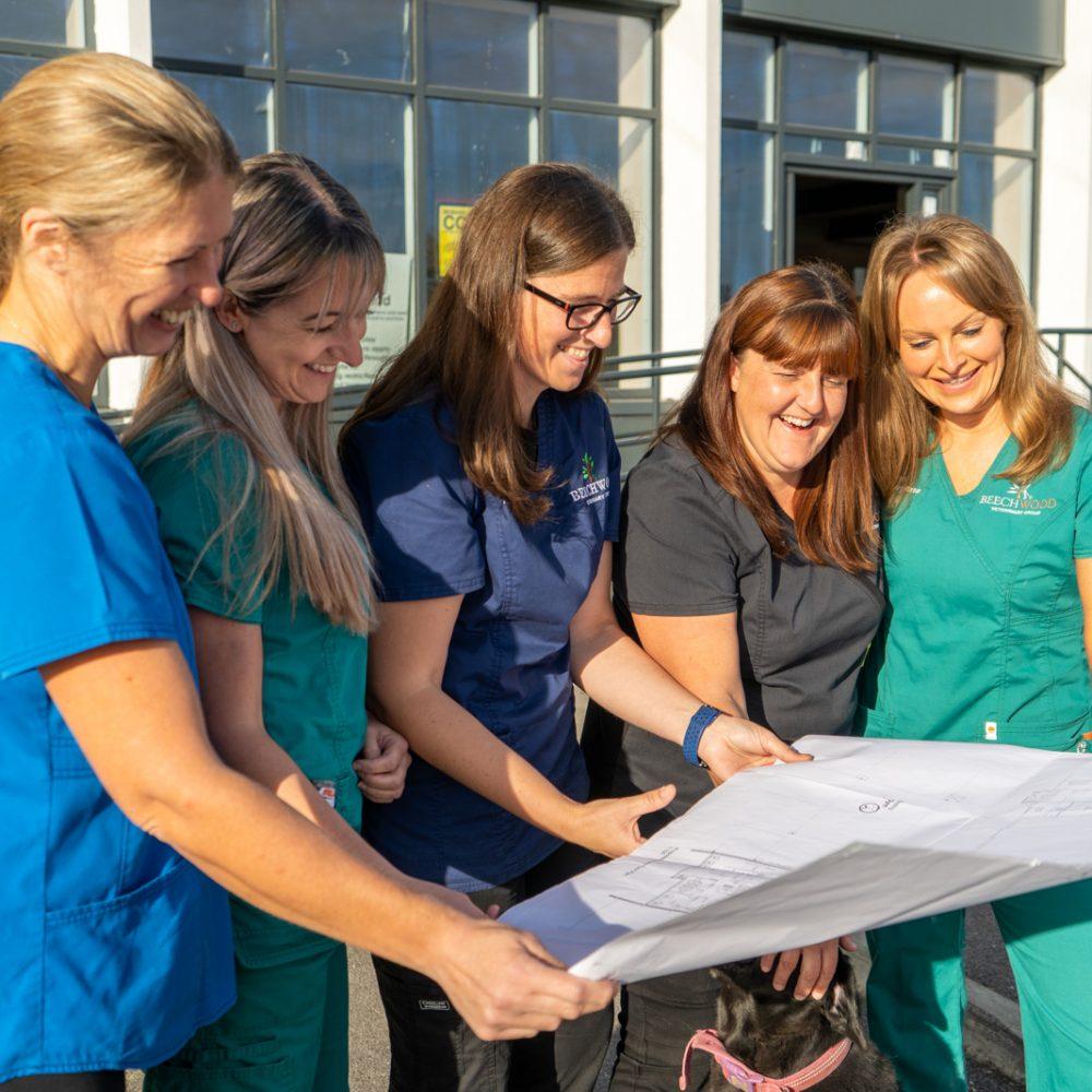 Excitement building as work starts on £1.4m Leeds veterinary practice