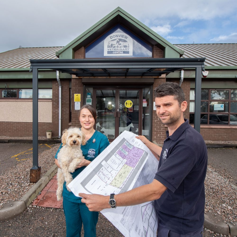 Boost for poorly pets as practice unveils exciting plans